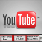 Youtube Cartoon intro